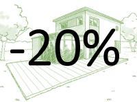 Offre spéciale sur l'ensemble du mobilier de jardin et accessoires -20% de remise*