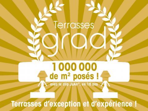 Plus de 1 000 000 de m2 de terrasse posé par le spécialiste de la terrasse en bois 92