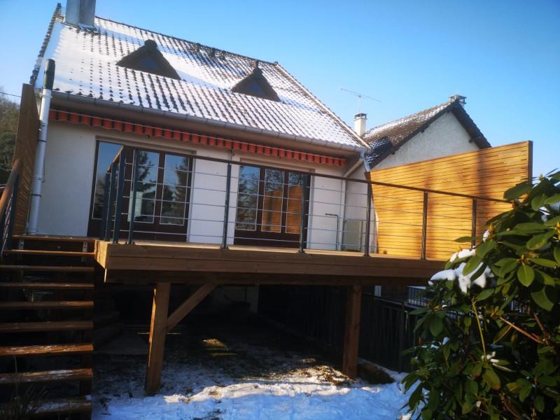 Terrasse pilotis, la solution pour vos espaces de vies au 1er étage.