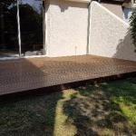 Terrasse bois, à Bièvres 91