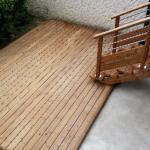 Conception et réalisation d'une terrasse autoportante en Yveline
