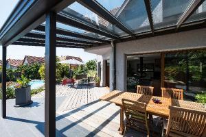 Pergola terrasse Verriere le Buisson 91