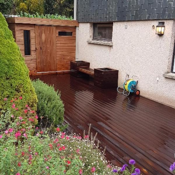 Terrasse bois 92 et banquette bois