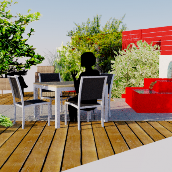Aménagement d'un patio en plein cœur de l'Essonne