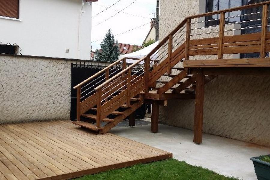 terrasse et escalier extérieur 78