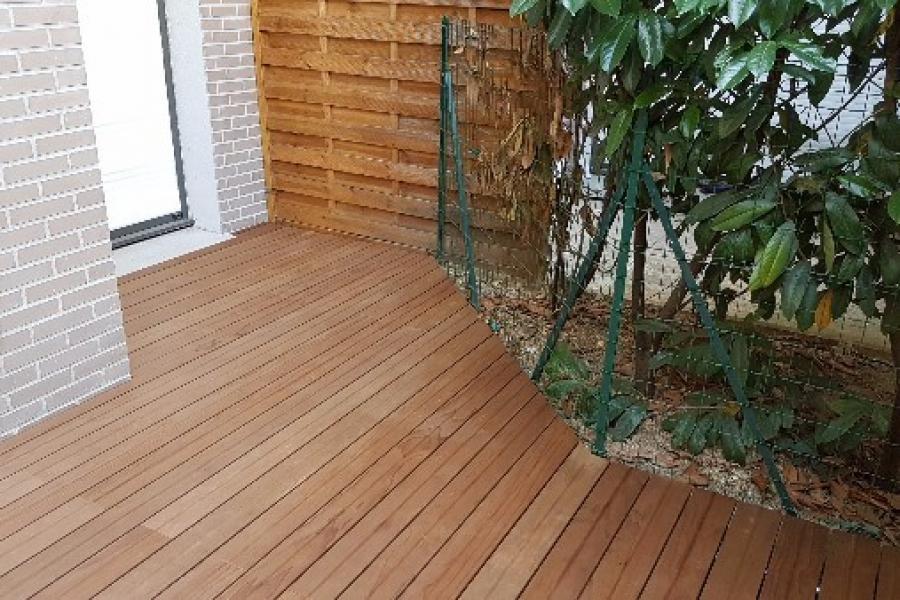 Réalisation d'une terrasse bois