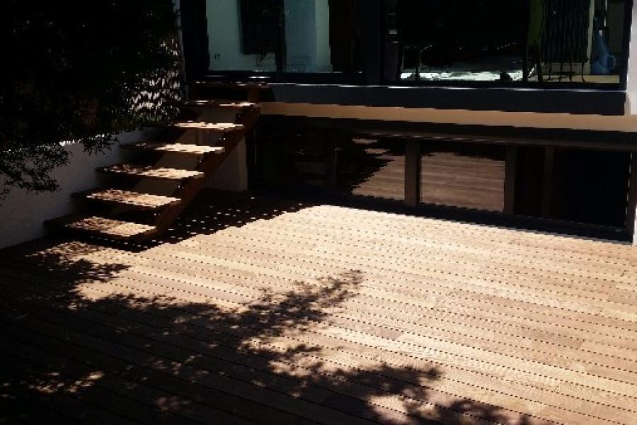 terrasse bois 92
