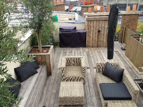 Connu Aménager un toit-terrasse avec une terrasse bois. Paris 75016  FU59
