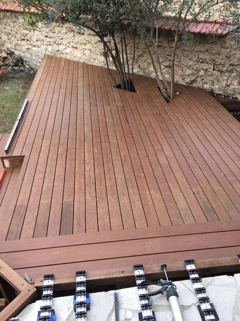 terrasses en bois sur plusieurs niveaux saint maur des foss s 94 entreprise terrasse meudon. Black Bedroom Furniture Sets. Home Design Ideas
